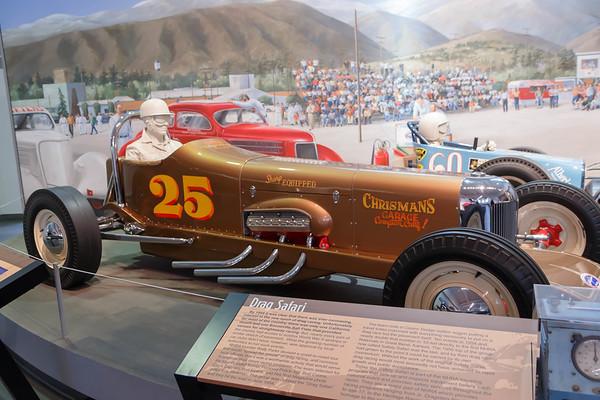 NHRA Museum in Pomona, CA - January 2016