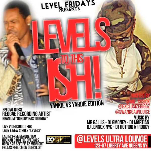 Level Fridays-LEvels to this Ish (8.16.13)