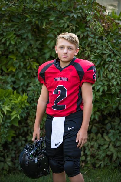 Wyatt's Football 9-2020