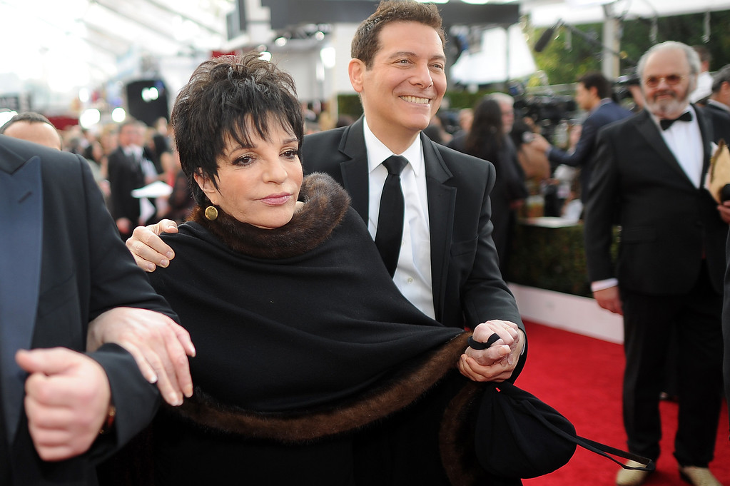 . Liza Minnelli on the red carpet at the 20th Annual Screen Actors Guild Awards  at the Shrine Auditorium in Los Angeles, California on Saturday January 18, 2014 (Photo by Hans Gutknecht / Los Angeles Daily News)