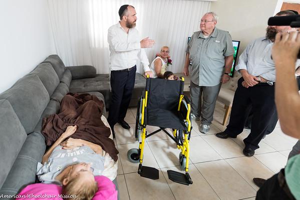 Sderot Wheelchair Deliveries