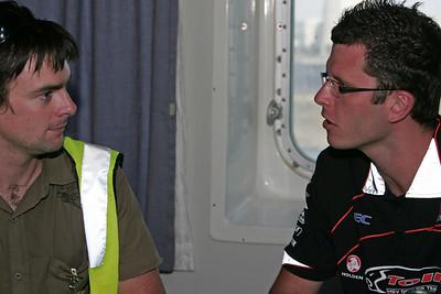 Interviewing Tander, 2006