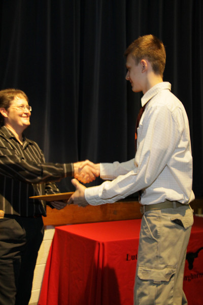 Awards Night 2012 - Student of the Year: PSEOP College Algebra / Pre-Calculus