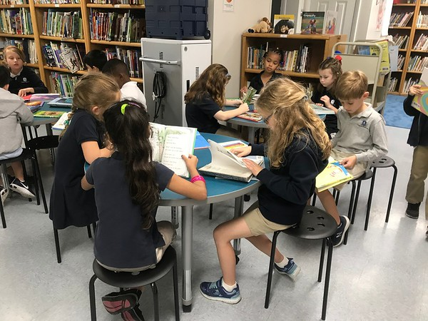New LD Library Tables & Stools 2018