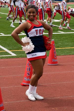 2015 TCH Cheerleaders, Danceteam and Fans