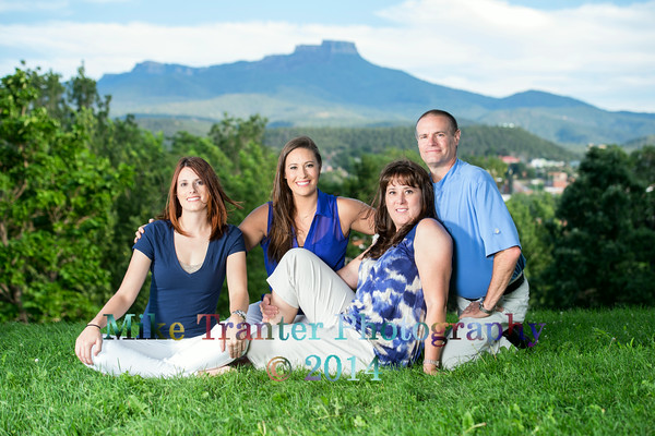 Michael and MaryBeth's Anniversary 2014 Family Photo Portrait