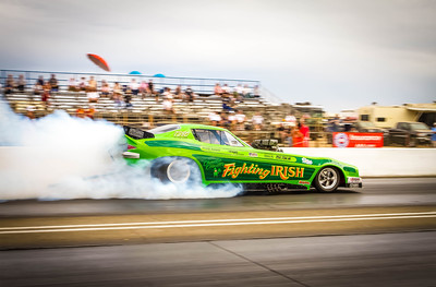 FUNNY CAR ROUND 3 ELIMINATIONS