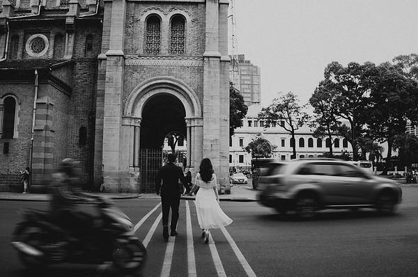 H + V | Engagement Shooting in Saigon