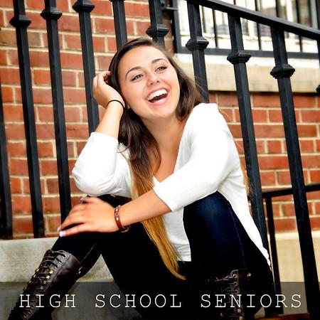 High School Senior Sessions