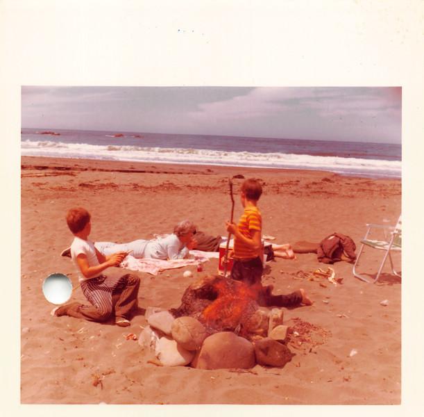 Jeff & Roy Adreveno Jr., June 1971 Ft. Bragg