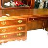 Versatile Mahogany Dresser w/Built-In Work Desk 65 x 30 x 19.  <b>$110</b>