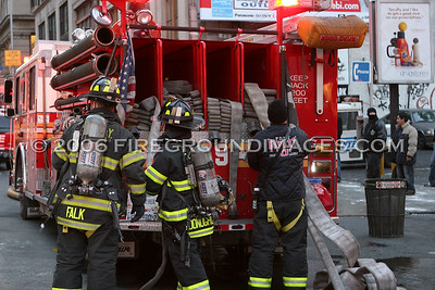 Broadway Fire (Manhattan, NY) 1/16/06