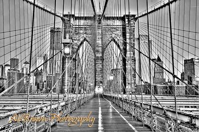 A Walk Along the Brooklyn Bridge