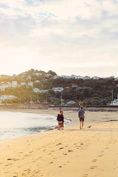 Editorial Photos - Island Bay, Wellington