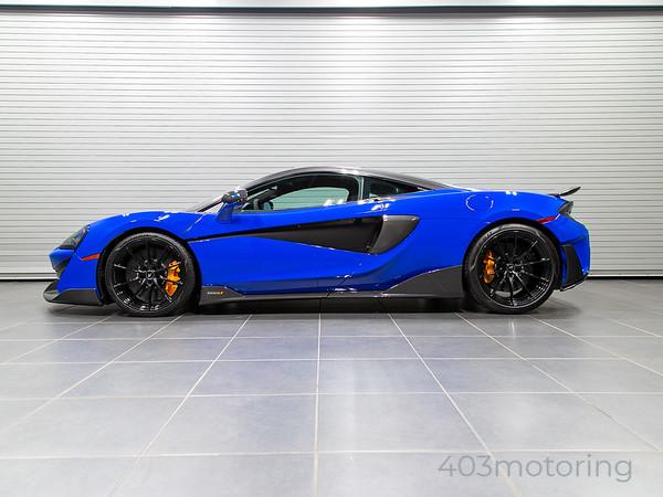 '19 600LT Coupe - Paris Blue