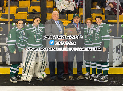 3/18/2018 - Girls Varsity Hockey - Canton vs Wellesley