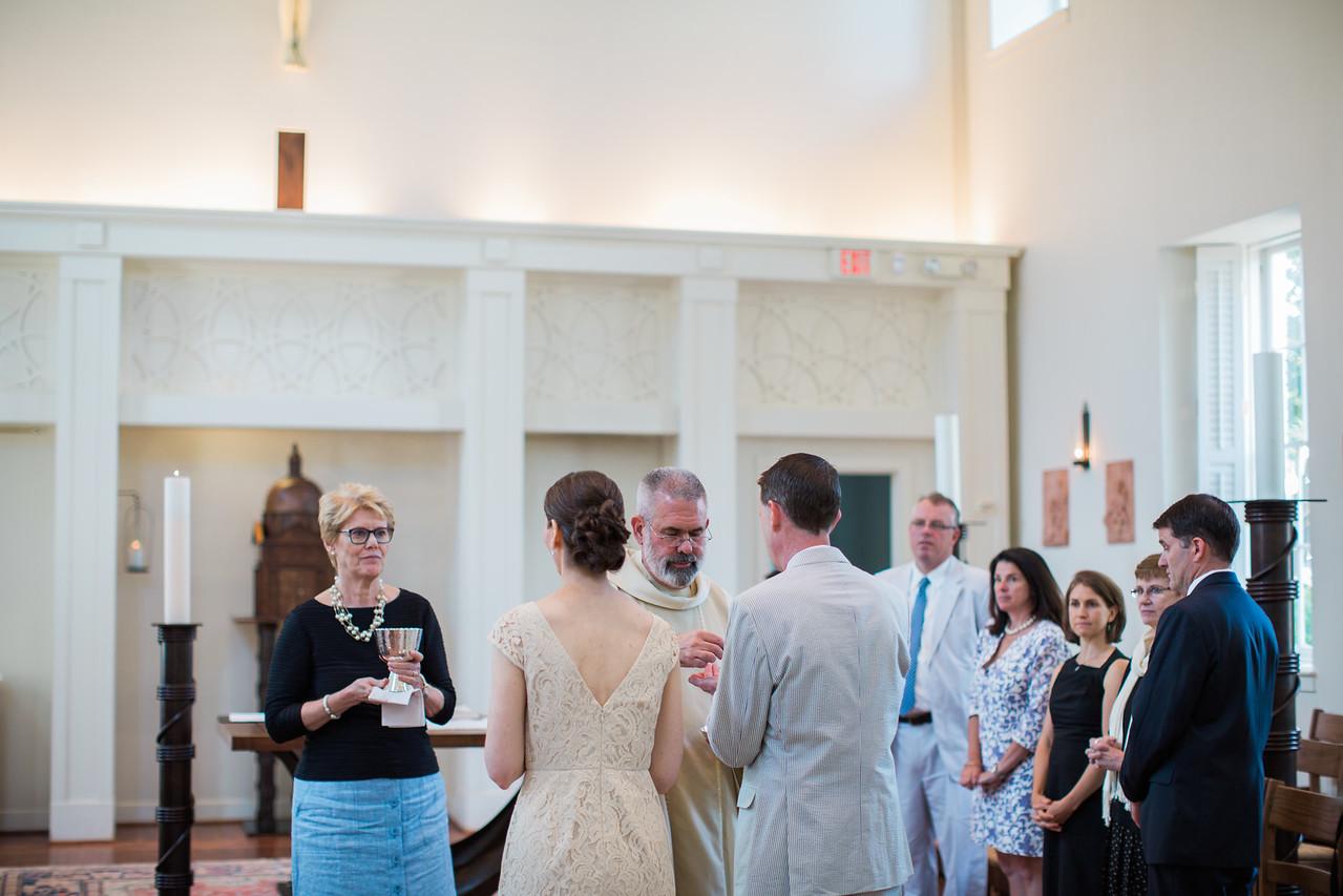 St Ignatius Chapel Wedding photos of Theresa and Thomas' convalidation.