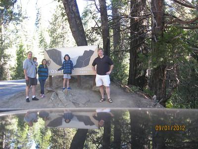 Yosemite with Tom