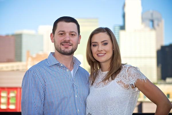 Jess & Ben Engagement Portraits in Dallas