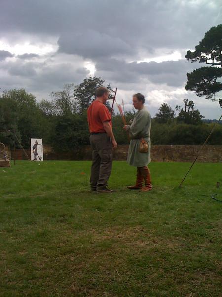 AC's archery lesson