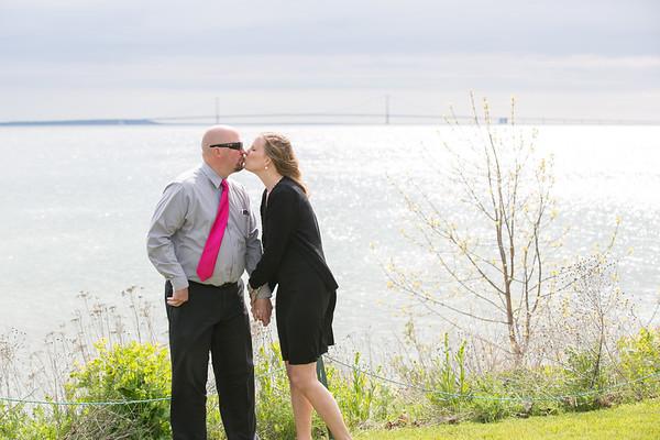 20-year Wedding vow renewal Mackinac Island