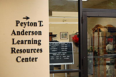Peyton T. Anderson Learning Resources Center