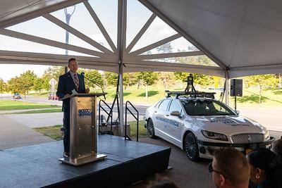 Autonomous Vehicle Unveiling Sept 2019