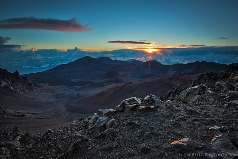 Sunrise at Mt. Haleakala