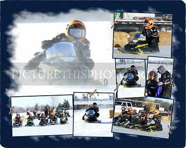 Snowmobile Collages