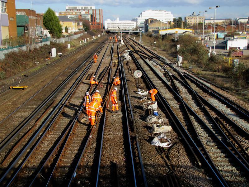 Alt Grove Footbridge - Track Maintenance