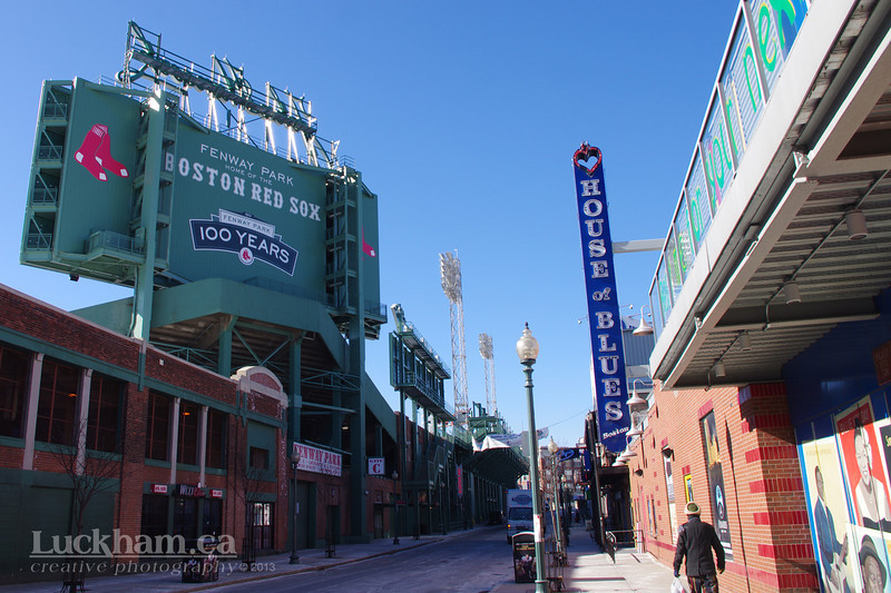 Fenway Park and House of Blues