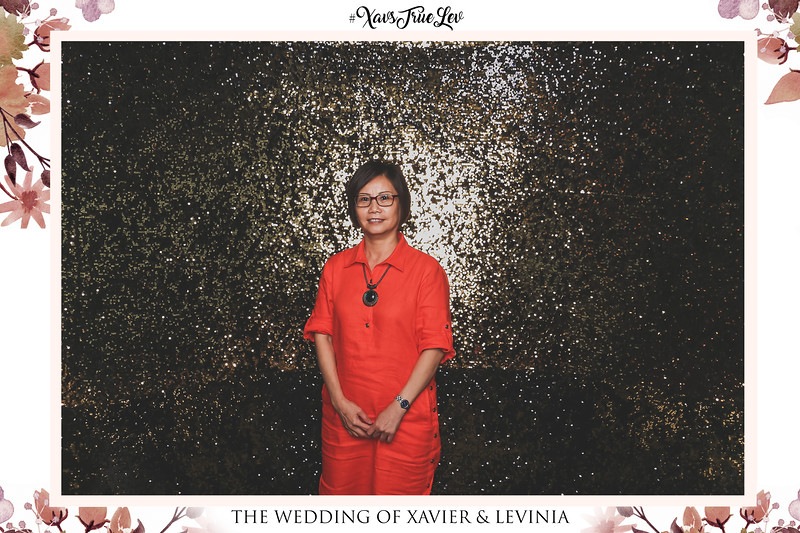 Wedding of Xavier & Levinia | © www.SRSLYPhotobooth.sg