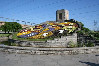 Day 25: Niagara Parks Floral Clock - 29 May 2007
