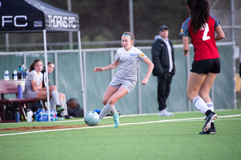 03/25/18 - San Juan Blue @ California Thorns Academy2 (02 Girls U16)