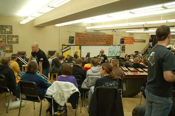 Workshop with Purdue Bands