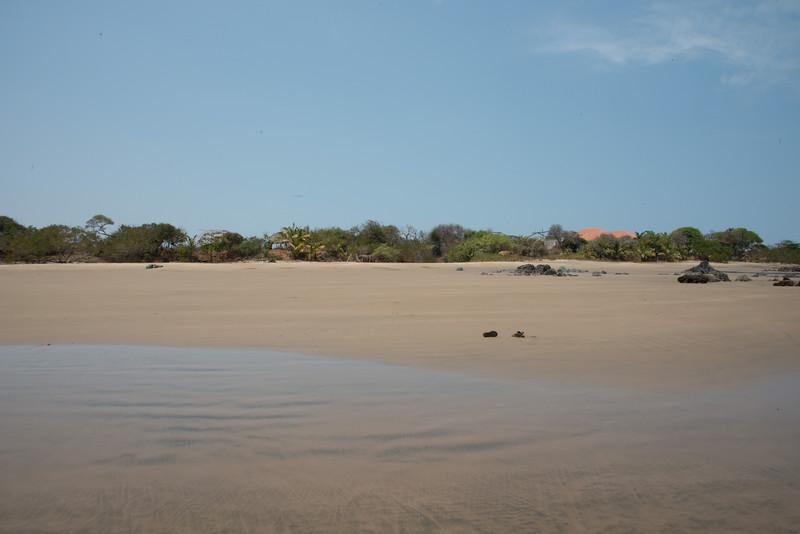 Costa Pedasi beach  - lots of sand