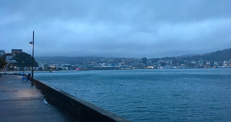 Gloomy morning