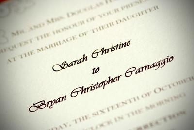 Sarah and Bryan's Wedding