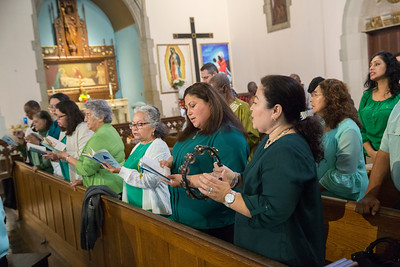 St. Gabriel Mass and rain garden blessing