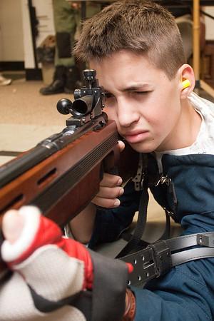 2011 Varsity Rifle Team Images