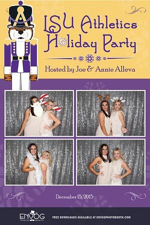 LSU Athletics Holiday Party (prints)