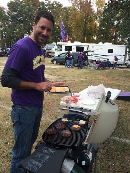 11/16 ECU vs UAB  Preston at the grill
