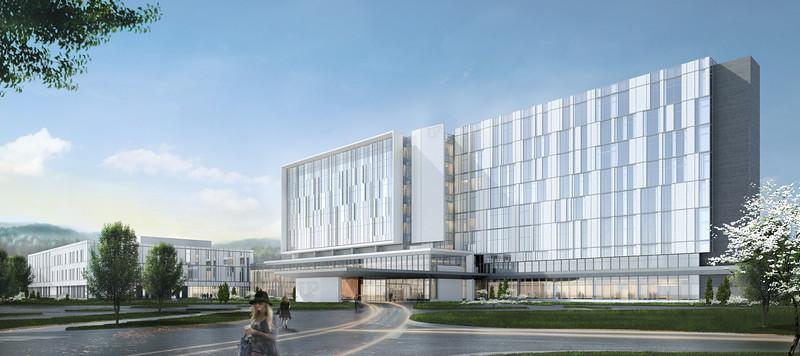 New Hospital Renderings