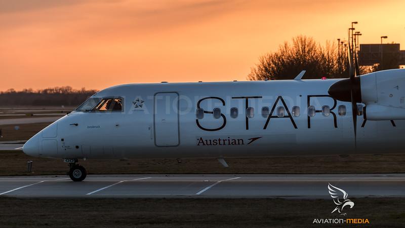 Austrian / Bombardier DHC-8-402Q / OE-LGO / Star Alliance Livery