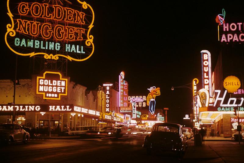 Fremont Street - Las Vegas - 1952