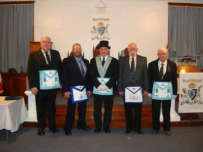 2016-01-19 Installation of Officers