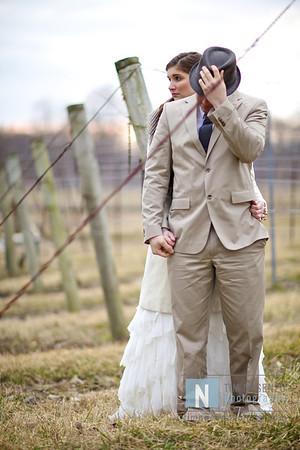 Justin & Mary :: Walk Through a Wedding :: February 2011