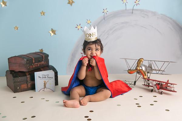 The Little Prince Cake Smash