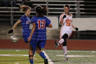Cal High Girls Soccer vs Clayton Valley 2-15-12