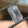 3.04ct Emerald Cut Diamond, GIA F VS1 4